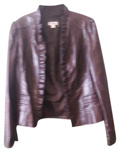 dressbarn Leather Jacket