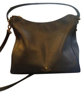 Kate Spade Pebbled Leather Zip Top Closure Hobo Bag