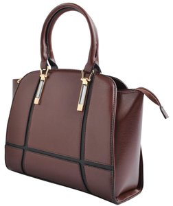 USO COUTURE Leather Bagsforwomen Fashionforwomen Formalbags Tote in Brown