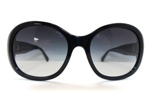 Chanel CHANEL 5235-Q c.501/3C Shiny Round Black Sunglasses