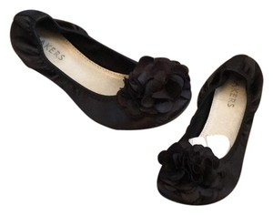 Bakers black Flats
