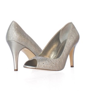 Style & Co Silver Pumps