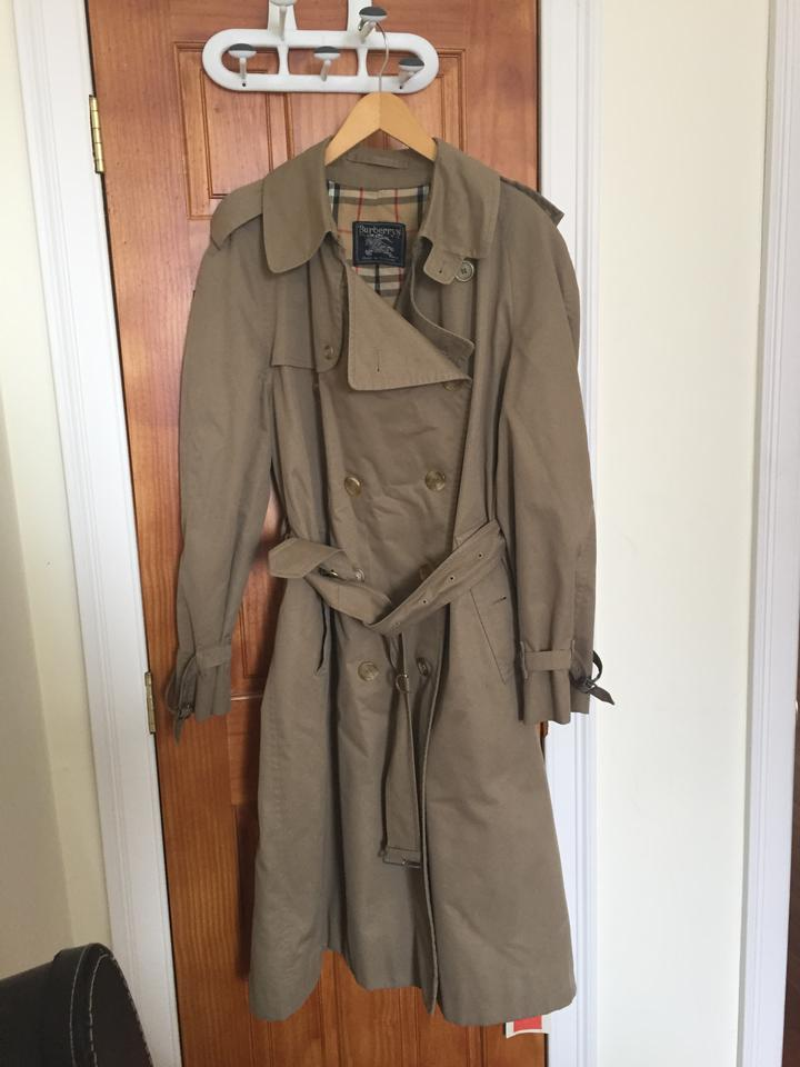 99448267261 Burberry Vintage Water-resistant Trench Coat Image 6. 1234567