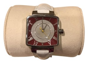 Louis Vuitton Pink and White Louis Vuitton Watch