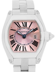 Cartier Cartier Roadster Pink Ribbon Breast Cancer Awareness LE Watch W62043V3