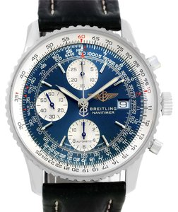 Breitling Breitling Navitimer II Automatic Steel Blue Dial Mens Watch A13322