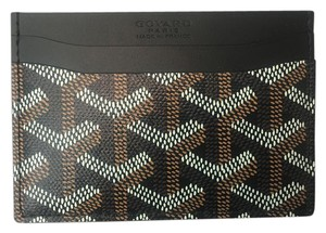 Goyard Brand New - Classic Saint Sulpice Card Holder Wallet Black