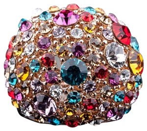 Other Swarovski Crystal Dome Statement Ring DF100