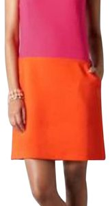 Ann Taylor LOFT short dress Pink and orange on Tradesy