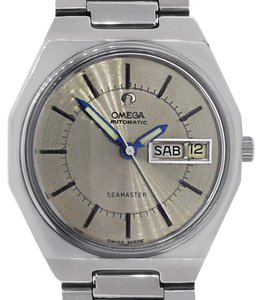 Omega Omega Seamaster Day-Date Stainless Steel Mens Watch