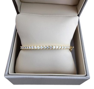Other MARKED DOWN From $1999.00 2CT 14K Yellow Gold Diamond Bangle Bracelet