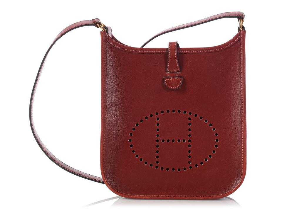 7282af4acd23 Hermès Hr.l0316.16 Tpm Perforated Box Leather Cross Body Bag ...