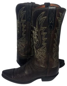 Lucchese 1883 Cowgirl 7 Women Size 7 Brown Boots