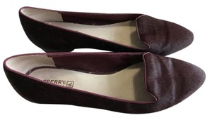 Sperry Pony Hair New plum Flats