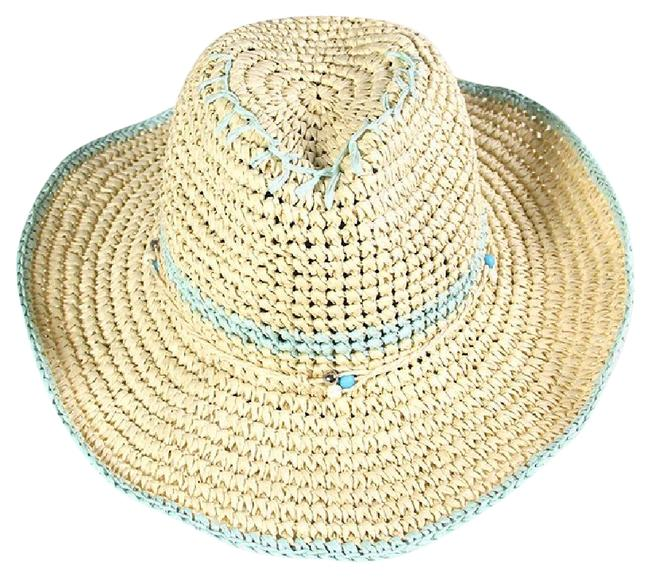 Item - Mint New Handmade Western Style with Straw Ribbon Hat