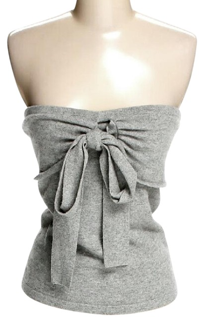 Item - Grey Cashmere Convertible Halter Top Size 6 (S)
