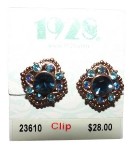 1928 New 1928 Clip on Earrings, Cute!