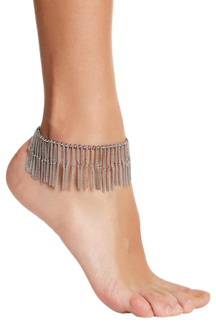Item - Silver Darling Fine Chains Beads Anklet New