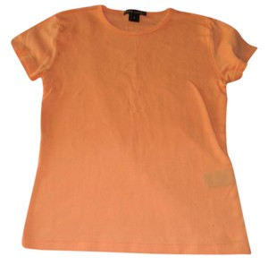 Ralph Lauren Black Label Orange Summer T Shirt Light Orange
