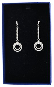 Swarovski * Swarovski Brilliant Paved Crystal Drop Earrings