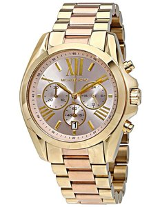 Michael Kors Michael Kors Women's Bradshaw Two-Tone Bracelet Watch MK6359