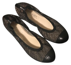 Chanel #chanel #chanel Ballet #chanel Black Flats