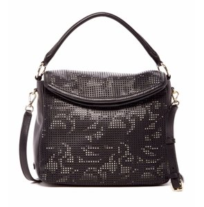 Cole Haan Magnolia Laser Cut Preforated Crossbody Floral Hobo Bag