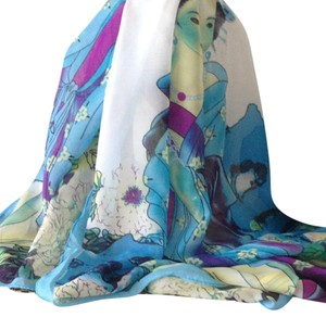 Other NEW - - Delicate Women's scarf/wrap RARE Geisha woman