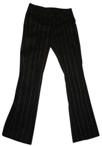 Cache Night Out Retro Pin Stripe Coach Boyfriend Pants black