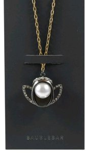 BaubleBar 'Virgo' faux pearl clear crystal zodiac amulet necklace