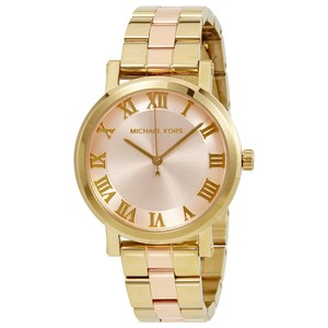 Michael Kors Michael Kors Women's Norie Two-Tone St. Steel Bracelet Watch MK3586