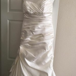 David's Bridal Mermaid Dress Wedding Dress