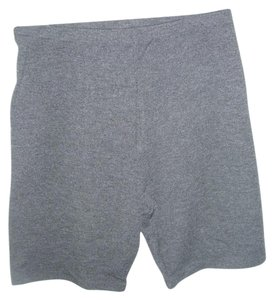 Mort Ultra Gray grey bike yoga gym stretch cool max cotton blend short pant USA
