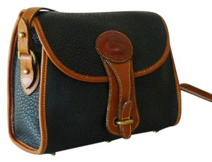 Dooney & Bourke & Leather Vintage Designer Cross Body Bag