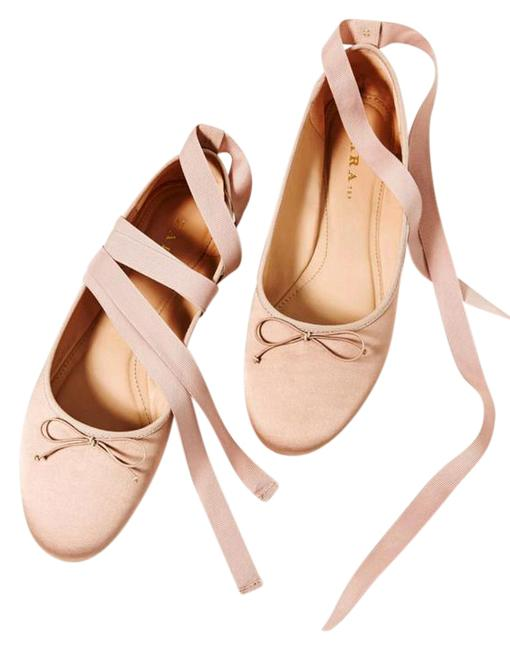 Item - Pink New with Tags Sateen Ballet Flats Size US 8 Regular (M, B)