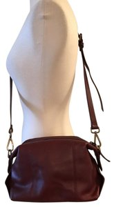 Madewell Satchel in Dark Cabernet