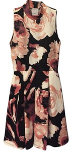Forever 21 Floral Pleated Dress