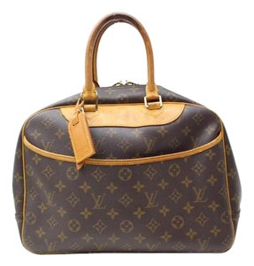Louis Vuitton Deauville Handbags Travel Office Tote in Brown