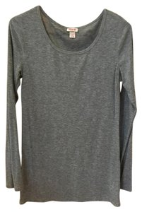 Mossimo Supply Co. Longsleeve Target Basic Top Gray