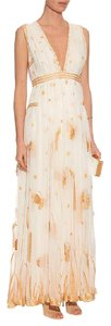 White Maxi Dress by Diane von Furstenberg Dvf Gown