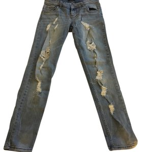 STS Blue Straight Leg Jeans-Distressed
