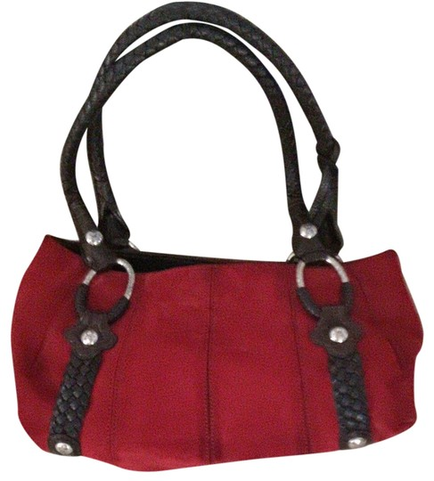 Preload https://item4.tradesy.com/images/brighton-d503530-red-with-brown-rope-leather-suede-shoulder-bag-2121568-0-0.jpg?width=440&height=440