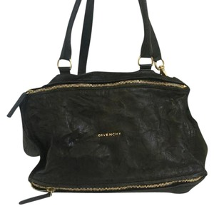 Givenchy Pandora Distressed Leather Shoulder Bag