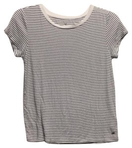American Eagle Outfitters T Shirt Black and White