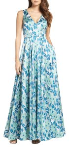 Adrianna Papell Gown Sleeveless Ball Gown Print Dress