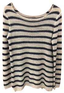 Vince Nautical Relaxed Boho Classic Sweater