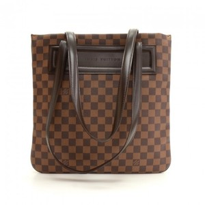 Louis Vuitton Damier Canvas Tote in Brown