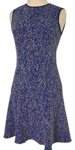 Shoshanna short dress blue on Tradesy