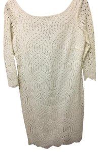 Jessica Simpson short dress Ivy ivory on Tradesy