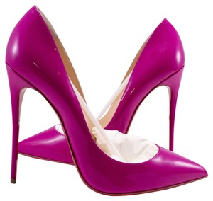 Christian Louboutin Indian Rose Pigalle Follies 120mm Pink pink purple Pumps